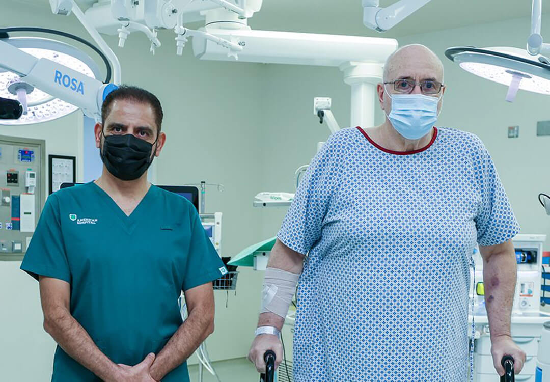 First robotic-assisted knee replacement surgery in Dubai